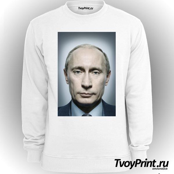 Свитшот с Путиным портрет