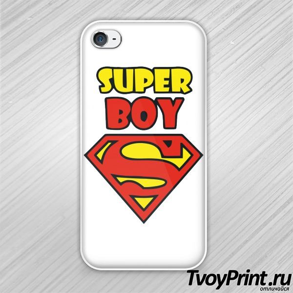 Чехол iPhone 4S Super boy