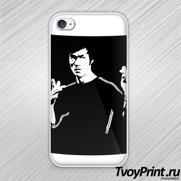 Чехол iPhone 4S Брюс Ли