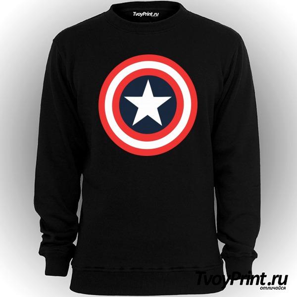 Свитшот Щит Капитана Америка