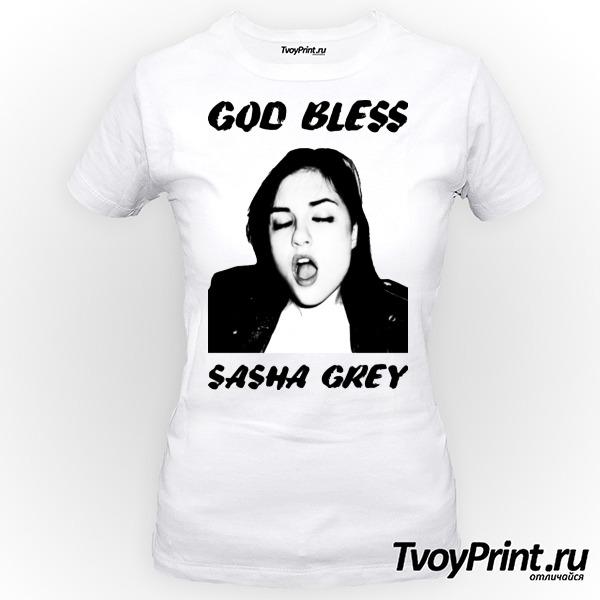 Футболка Sasha Grey (Саша Грей)