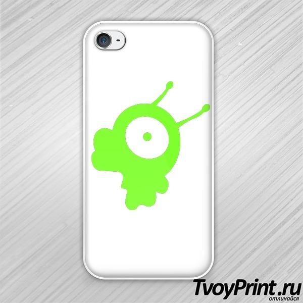 Чехол iPhone 4S Мозговой слизень