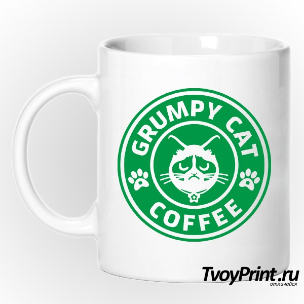Кружка Grumpy Cat Coffee