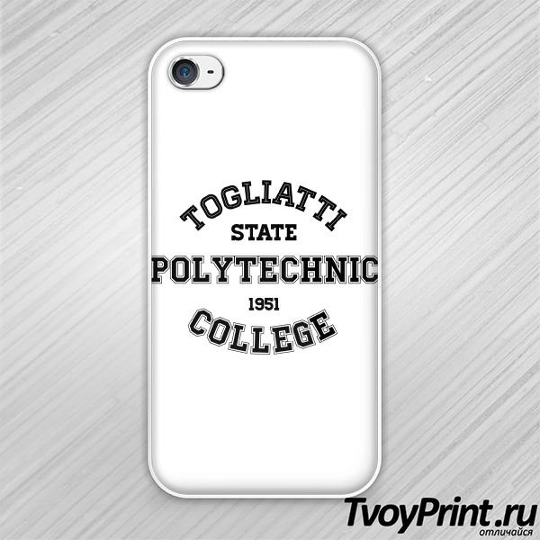Чехол iPhone 4S колледжей Тольятти :ТПК