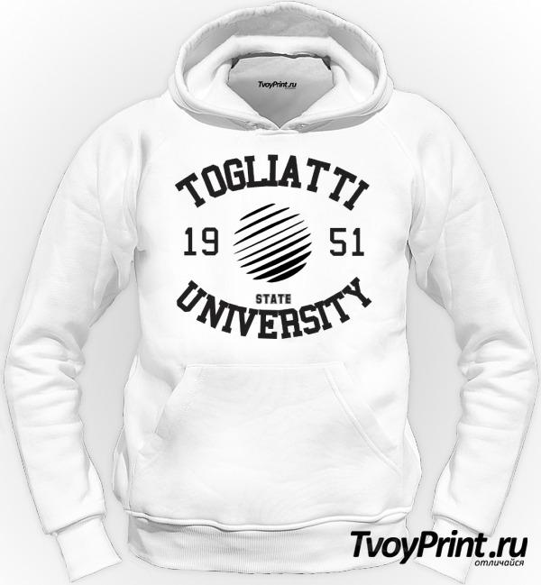 Толстовка вуза Тольятти: ТГУ