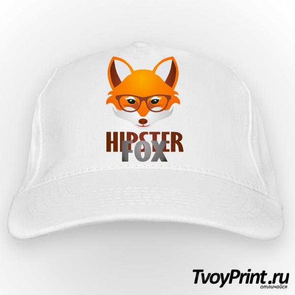 Бейсболка Hipster Fox