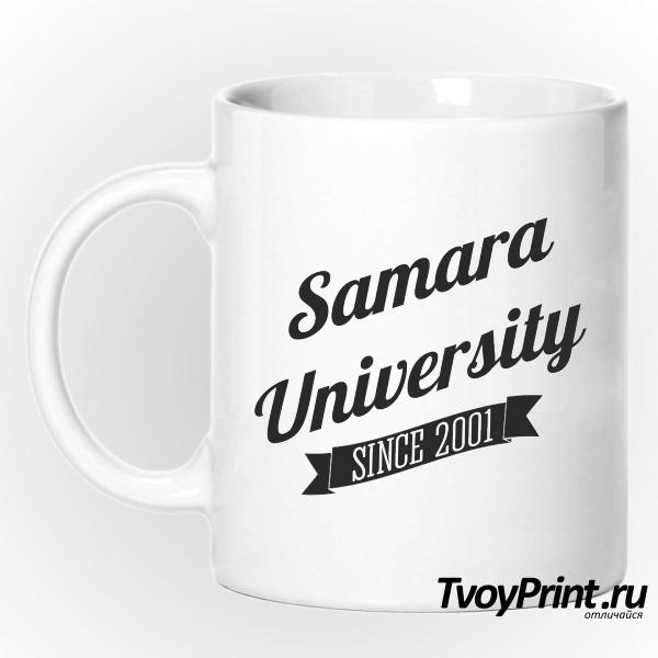 Кружка Университетская СамГУ