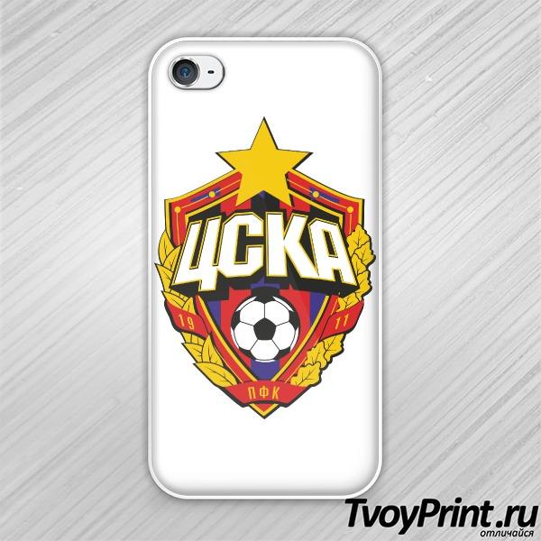 Чехол iPhone 4S ЦСКА