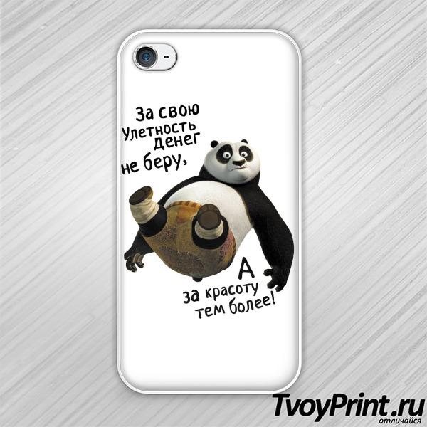 Чехол iPhone 4S Улётная Кунг-фу Панда