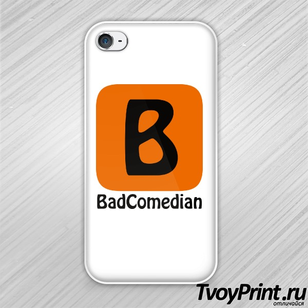 Чехол iPhone 4S BadComedian (блогер)