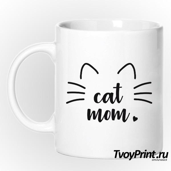 Кружка Cat mom