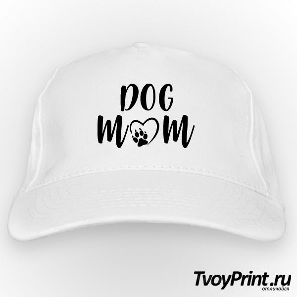 Бейсболка Dog mom