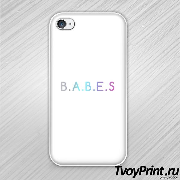Чехол iPhone 4S b.a.b.e.s