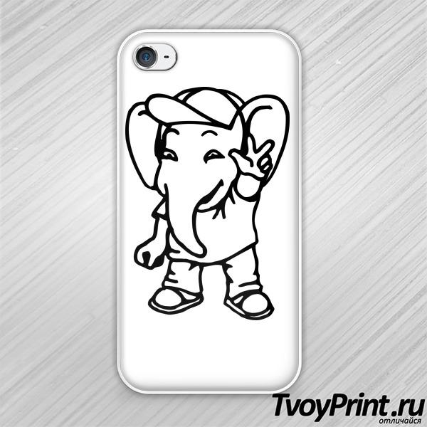 Чехол iPhone 4S Денди (Dendy)