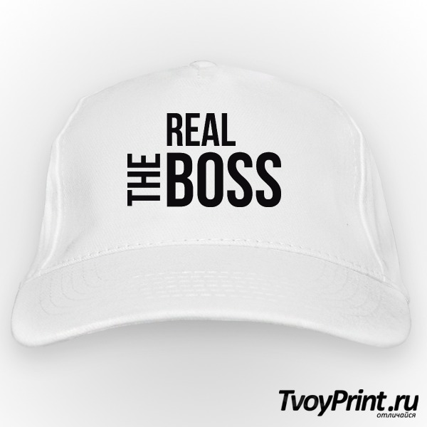 Бейсболка The real boss