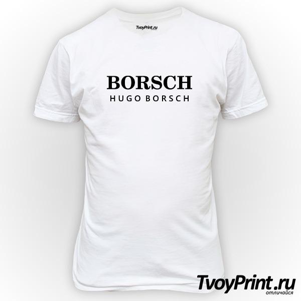 Футболка Hugo borsch
