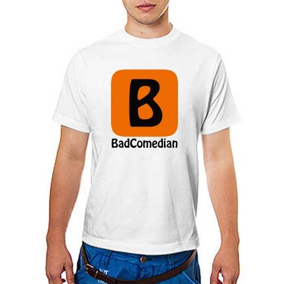 Футболка BadComedian (блогер)