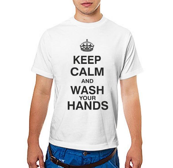 Футболка KEEP CALM AND WASH YOUR HANDS