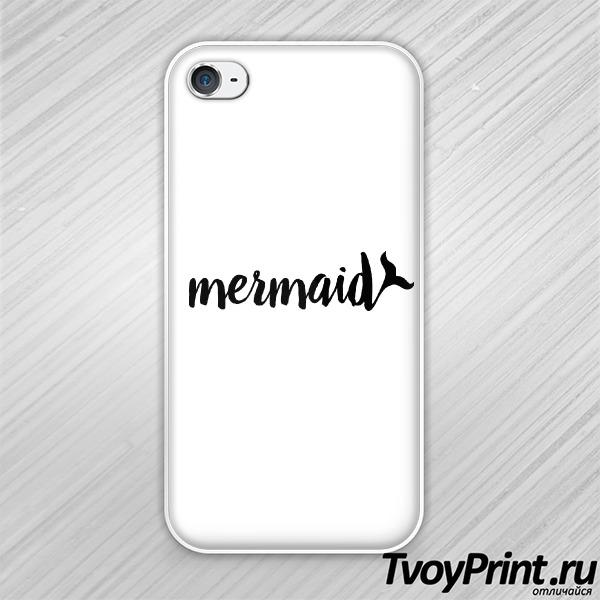 Чехол iPhone 4S Mermaid