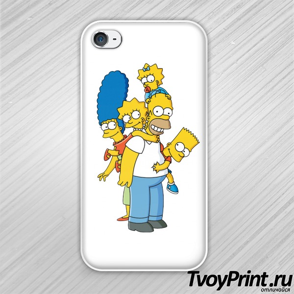 Чехол iPhone 4S Simpsons