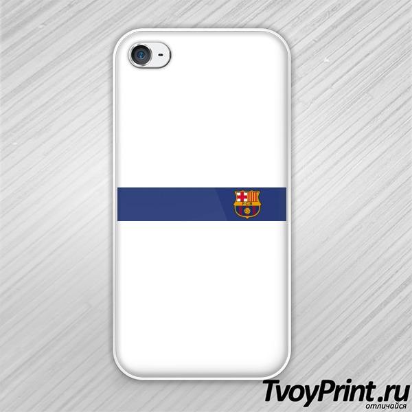 Чехол iPhone 4S Барселона форма