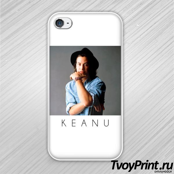 Чехол iPhone 4S Молодой Киану