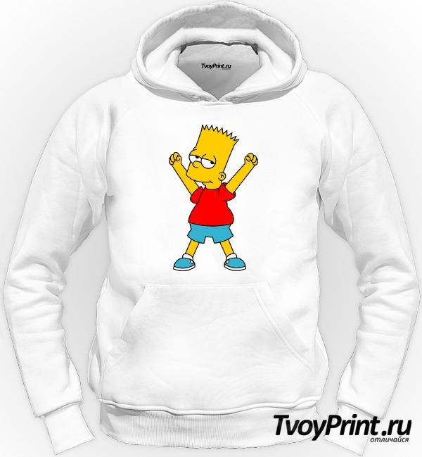 Толстовка Барт Симпсон