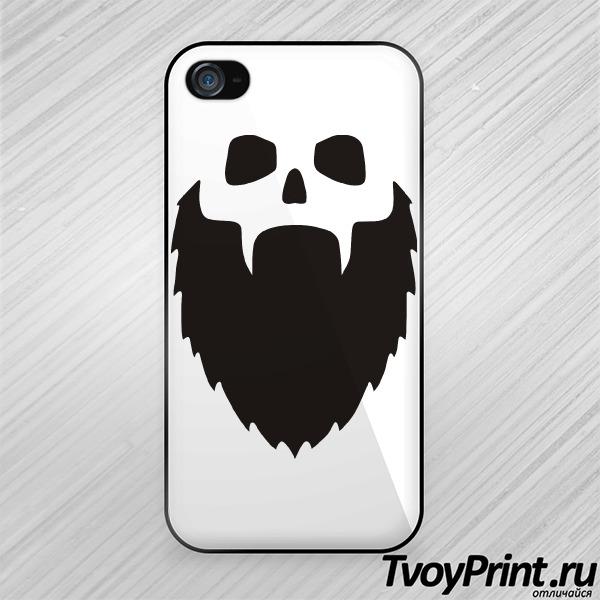 Чехол iPhone 4S Борода или смерть