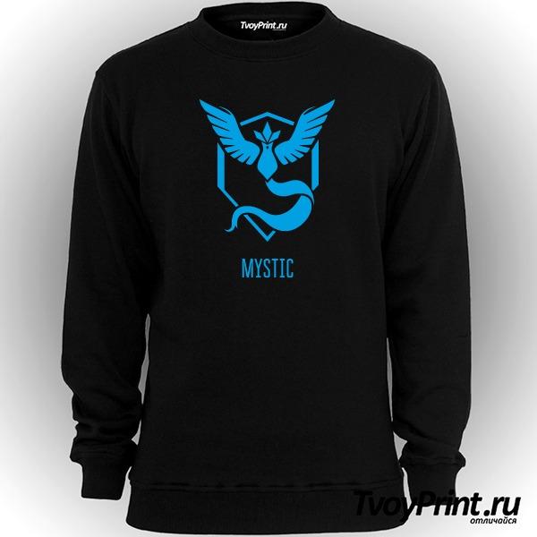 Свитшот Blue Team Mystic Pokemon Go Синяя команда