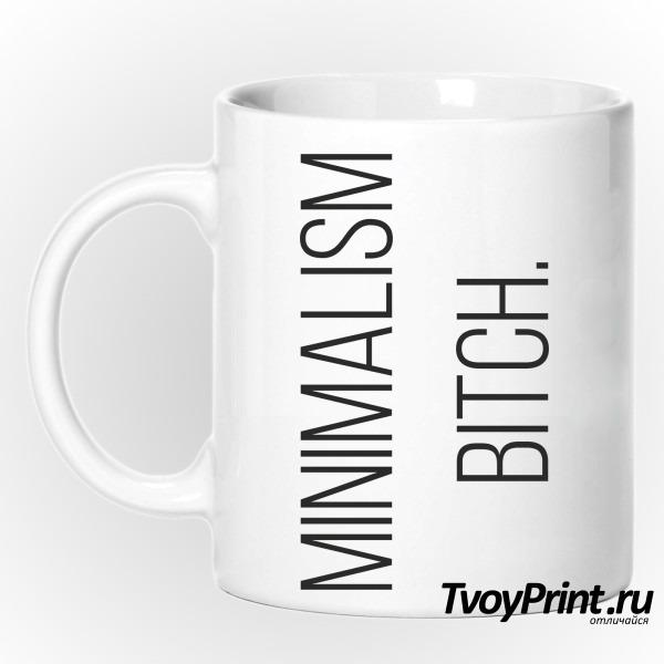 Кружка minimalism bitch