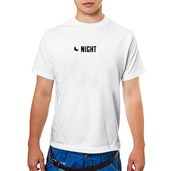 Футболка  day & night (night)