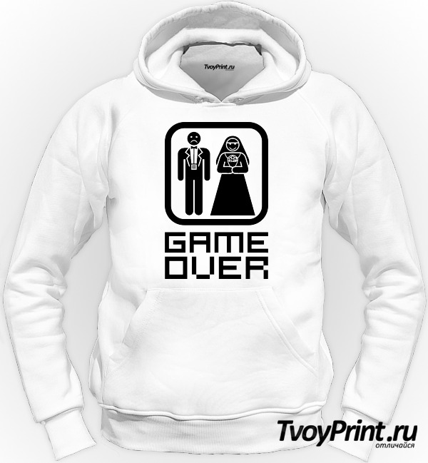 Толстовка Game over