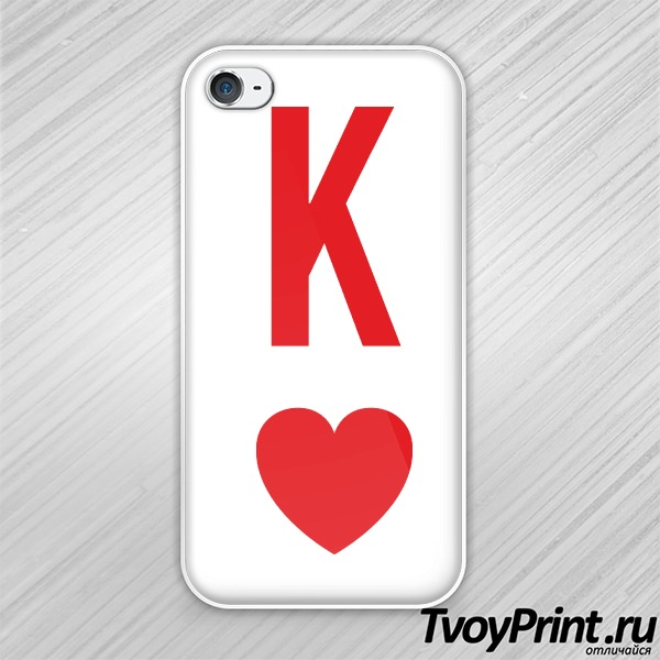 Чехол iPhone 4S king