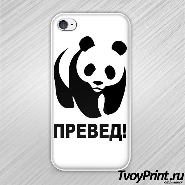 Чехол iPhone 4S ПРЕВЕД!