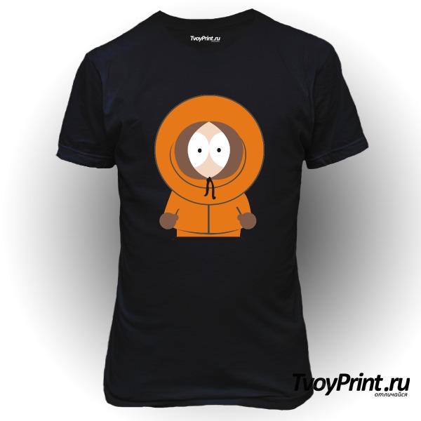 Футболка South Park Кенни