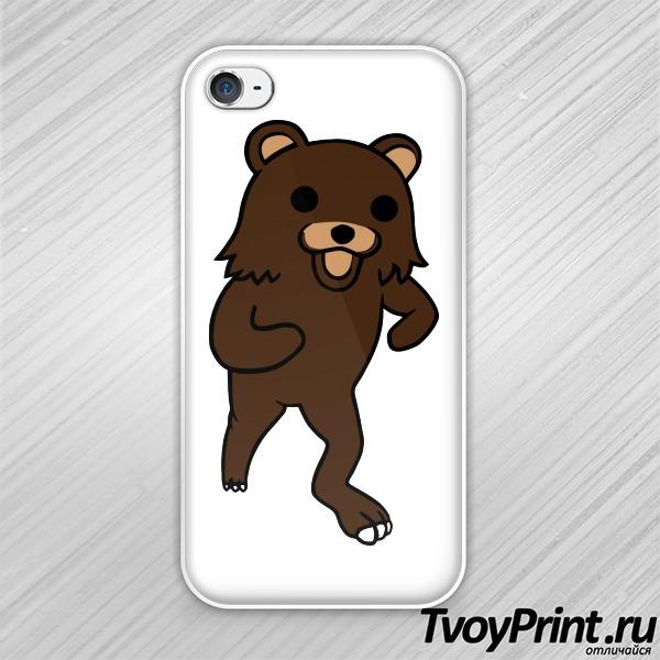 Чехол iPhone 4S Pedobear