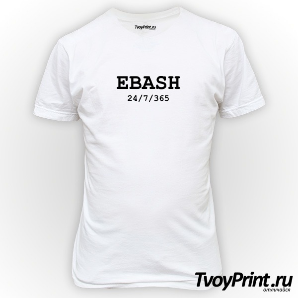 Футболка ebash
