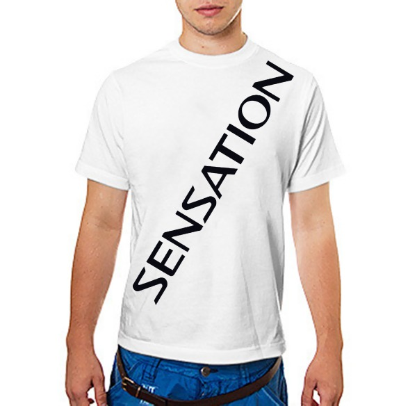 Футболка sensation white 2014