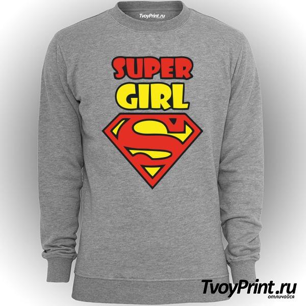 Свитшот Super girl