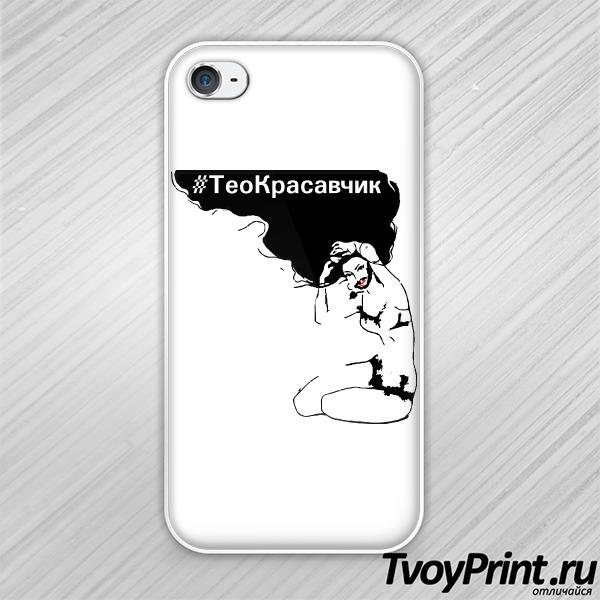 Чехол iPhone 4S Кончита (черн)