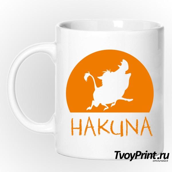 Кружка  Hakuna Matata (пумба)