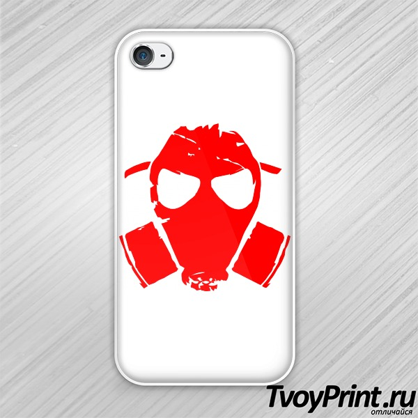 Чехол iPhone 4S Fallout logo