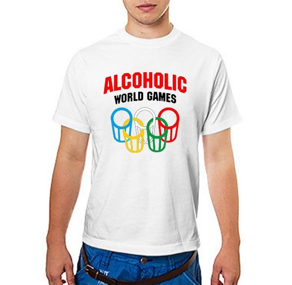 Футболка Алкоголик