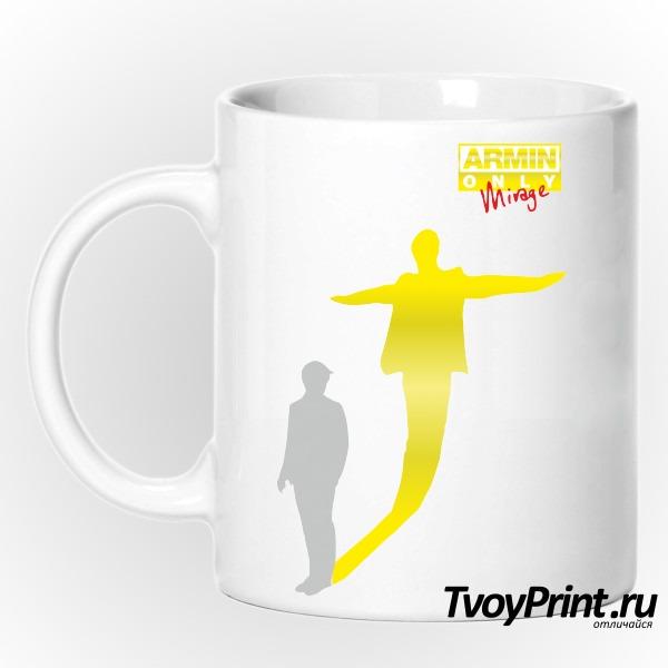 Кружка Armin Van Buuren золото