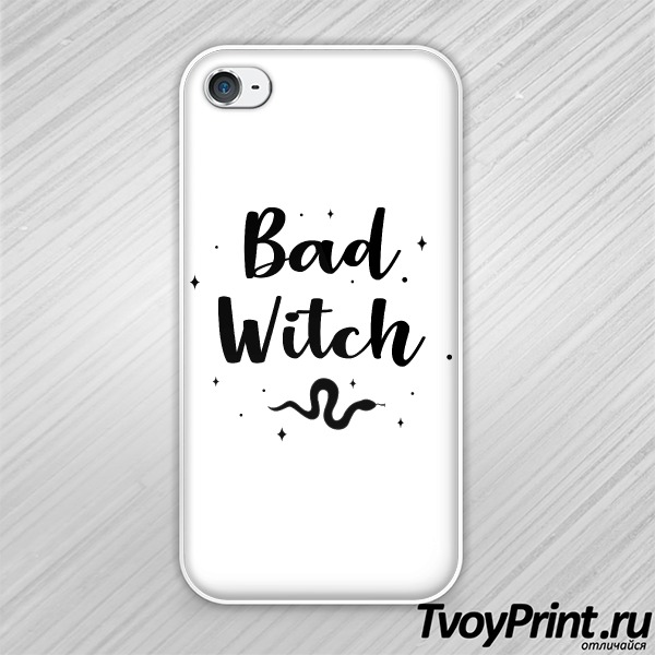 Чехол iPhone 4S Bad witch