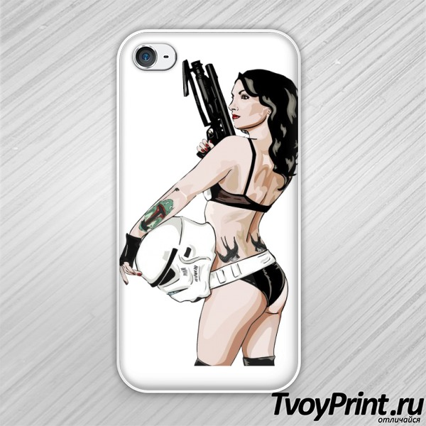 Чехол iPhone 4S Trooper