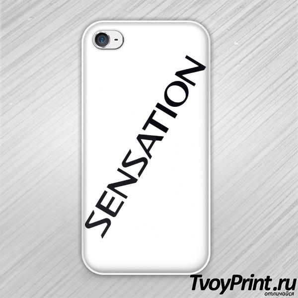 Чехол iPhone 4S sensation white 2014