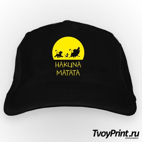 Бейсболка Hakuna Matata
