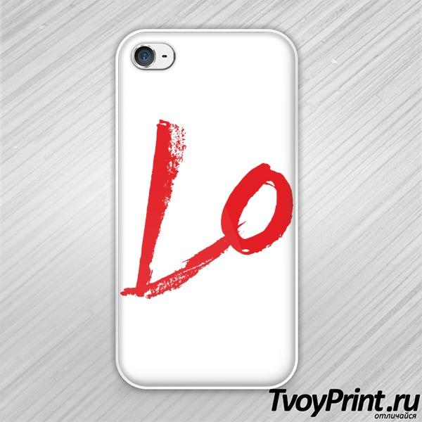 Чехол iPhone 4S Love (1)