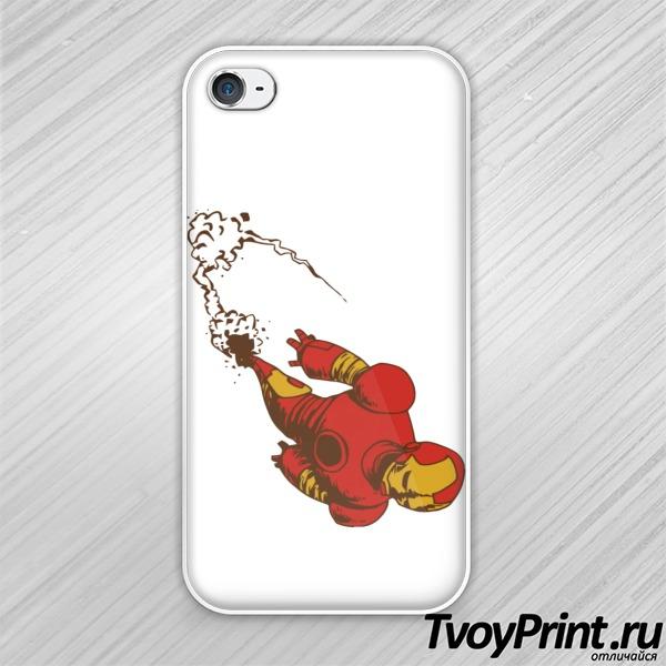 Чехол iPhone 4S Ironman